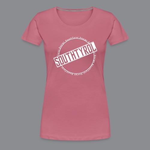 SouthTyrol Kreis weiß - Frauen Premium T-Shirt