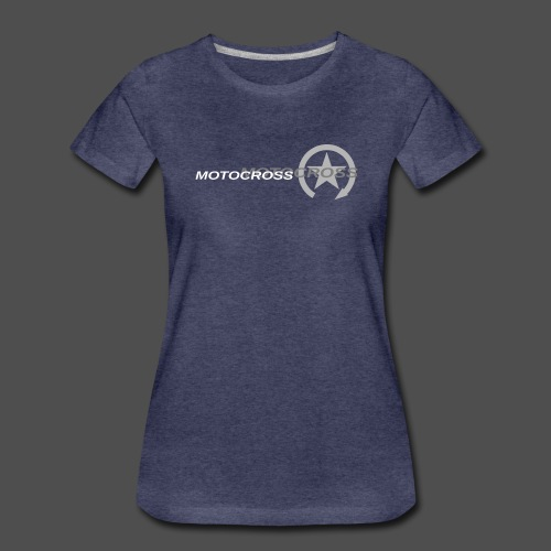 MOTOCROSS - Koszulka damska Premium