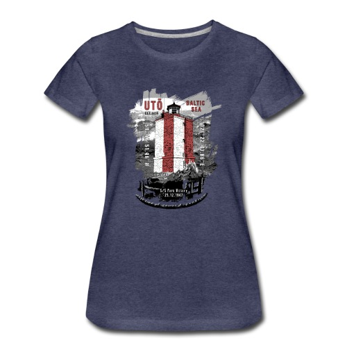 UTÖ majakan upeita tekstiilejä ja lahjatuotteita - Naisten premium t-paita
