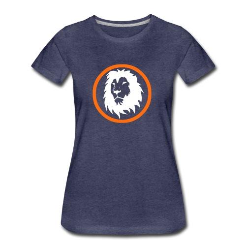 Absogames white lion unisex hoodie - Women's Premium T-Shirt