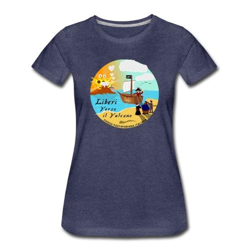 Verso_il_Vulcano_SHOP_DEF - Maglietta Premium da donna