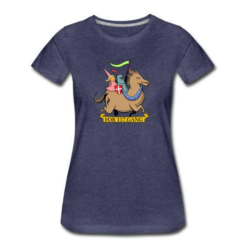 117 Shop - Dame premium T-shirt