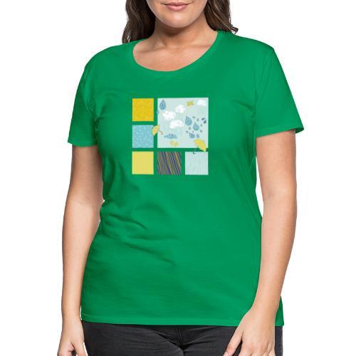 Sommerregen Liebe - Frauen Premium T-Shirt
