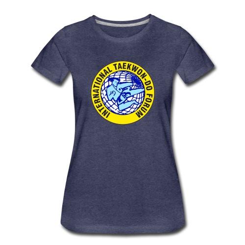 ITF TAEKWON-DO - Camiseta premium mujer