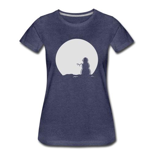 Snowman Hoody - Women's Premium T-Shirt