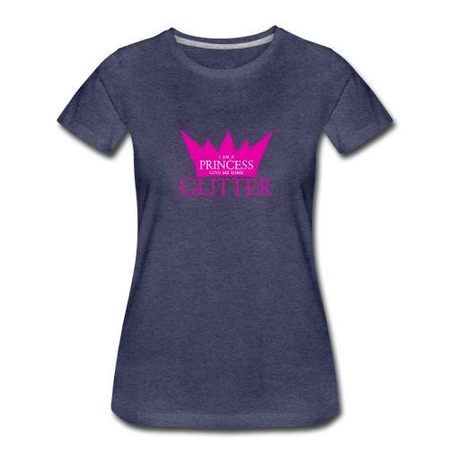 Glitzer für die Prinzessin - Frauen Premium T-Shirt