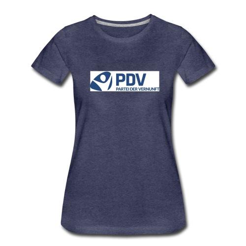 PDV Logo neu jpg - Frauen Premium T-Shirt