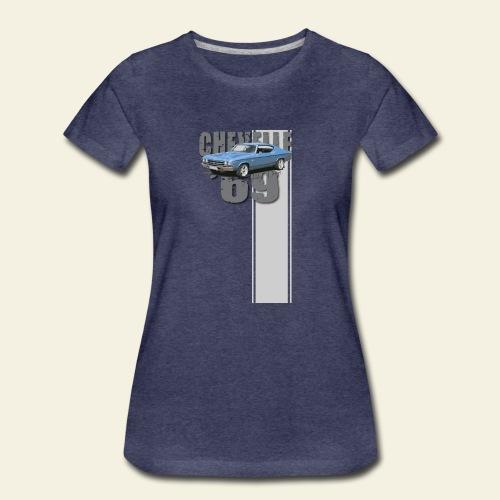 69 chevelle stripe - Dame premium T-shirt