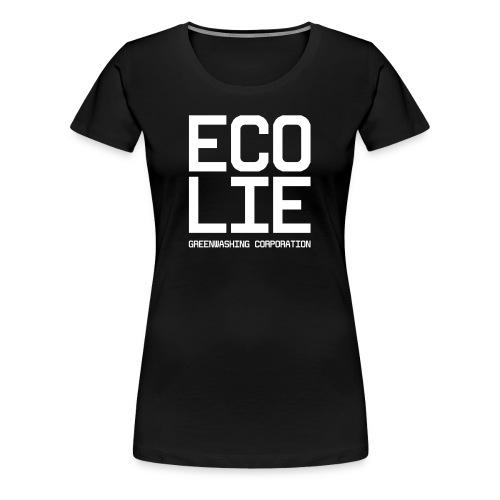 logo_ecolie - Frauen Premium T-Shirt