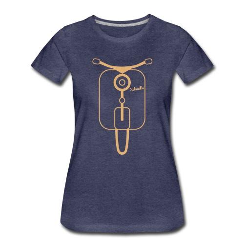 schwalbevorneb3 - Frauen Premium T-Shirt