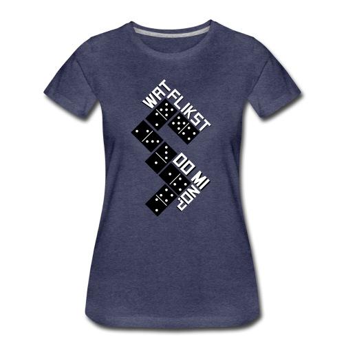 Domino - Vrouwen Premium T-shirt
