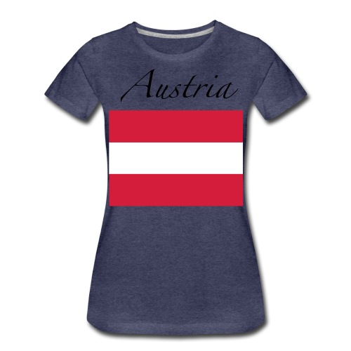 Made In Austria - Frauen Premium T-Shirt