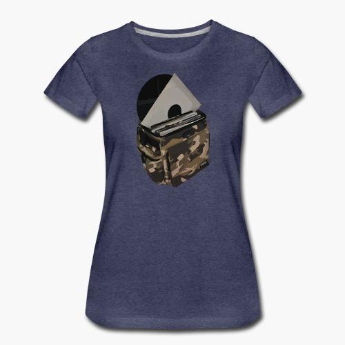 vinyl bag - Koszulka damska Premium