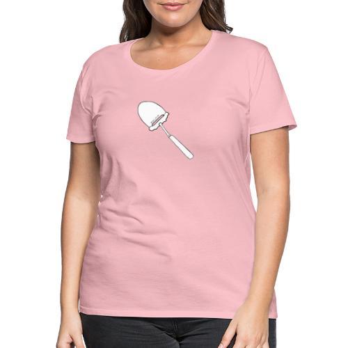 FjellTid Ostehøvel - Premium T-skjorte for kvinner