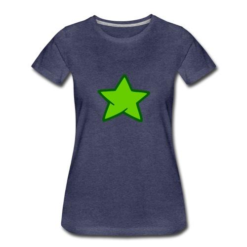 Estrella verde - Camiseta premium mujer