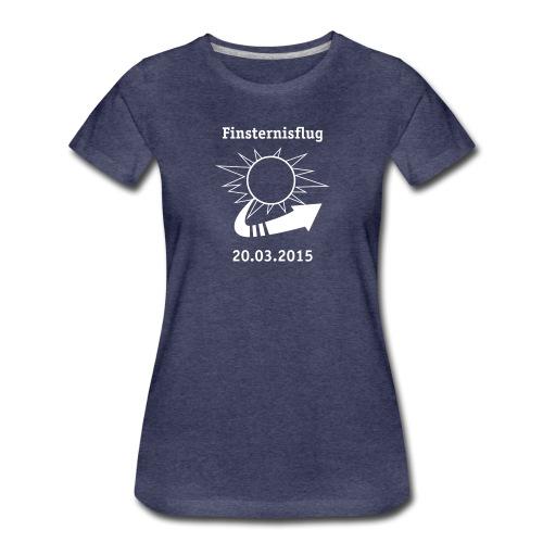 Finsternisflug_2015 - Frauen Premium T-Shirt