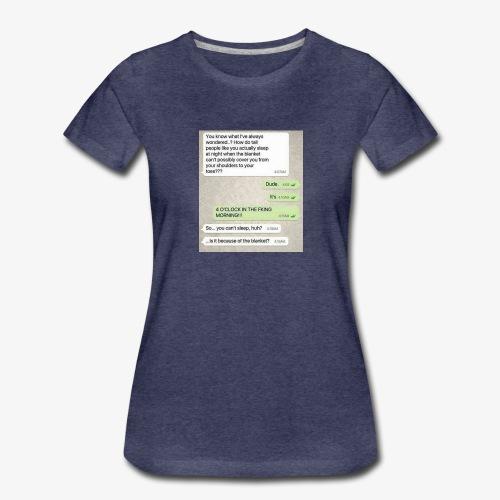 Humor - Premium T-skjorte for kvinner