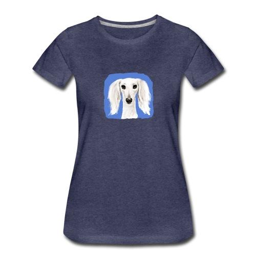 Saluki - Frauen Premium T-Shirt