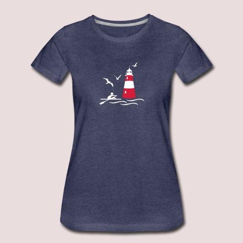 Leuchturm - Frauen Premium T-Shirt