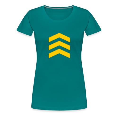 Kersantti - Naisten premium t-paita