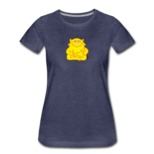 Happy Buddha - Frauen Premium T-Shirt