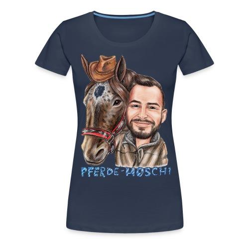 Hoschi-Karikatur forne - Frauen Premium T-Shirt