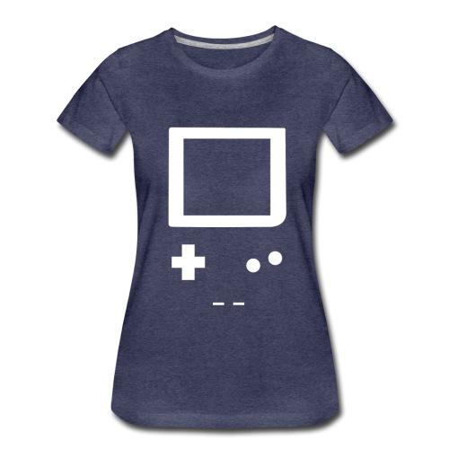 T-Shirt GameBoy - T-shirt Premium Femme