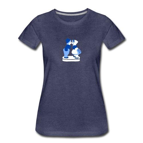 holländisches Pärchen koninginnedag t-shirt - Frauen Premium T-Shirt