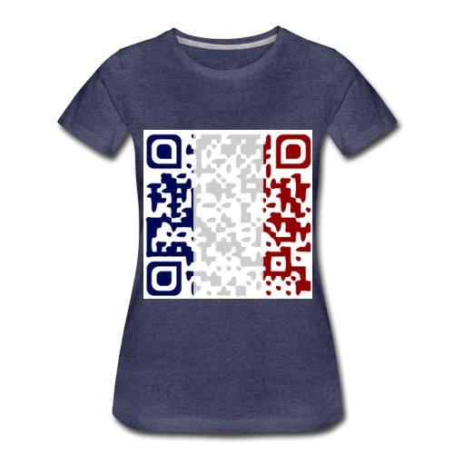 QR CODE SOUVENIR DE PARIS - T-shirt Premium Femme