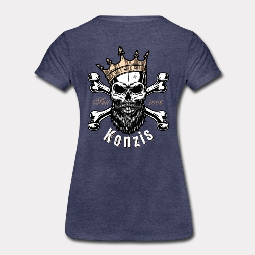 Skull Bones Logo - Frauen Premium T-Shirt