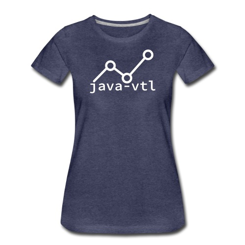 java vtl logo - Women's Premium T-Shirt