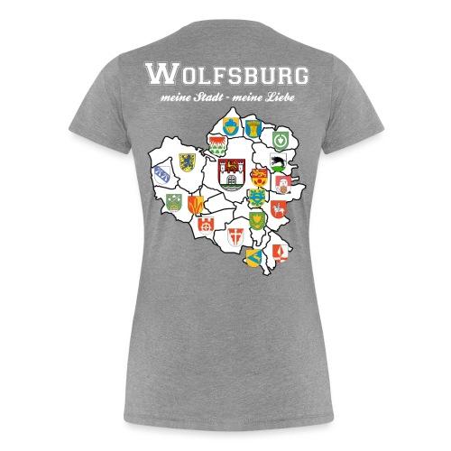 Wolfsburgs Stadtteile - Frauen Premium T-Shirt