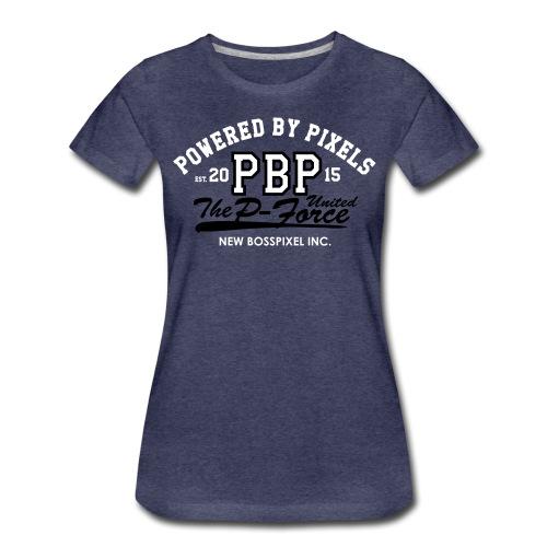 PBP College Design 2col - Women's Premium T-Shirt