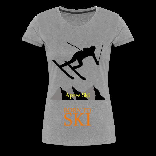 Schishirt - Frauen Premium T-Shirt