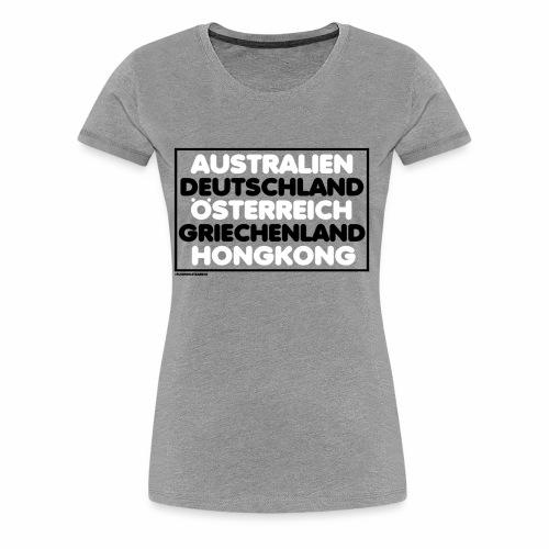 #FUNWHILETEARING - Frauen Premium T-Shirt
