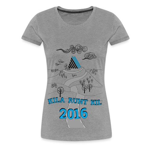 Kila runt Kil 2016 - Barn - Premium-T-shirt dam