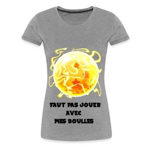 T shirt DBZ - T-shirt Premium Femme