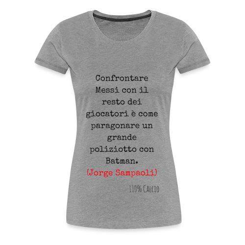 maglia 110 messi png - Maglietta Premium da donna