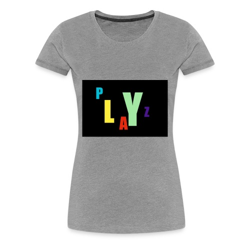 Funky playz - Women's Premium T-Shirt