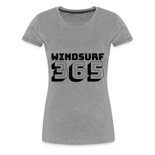 Windsurfing 365 - Women's Premium T-Shirt