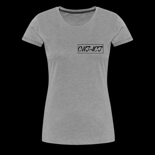 CNTACT Black - Frauen Premium T-Shirt