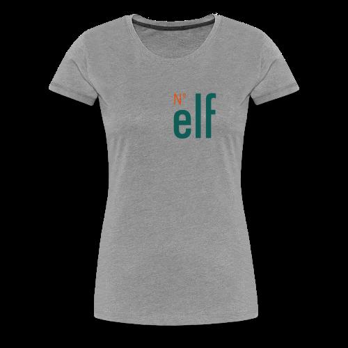 No. elf Logo - Frauen Premium T-Shirt