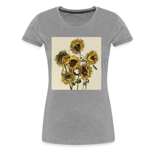Sunflowers - Women's Premium T-Shirt