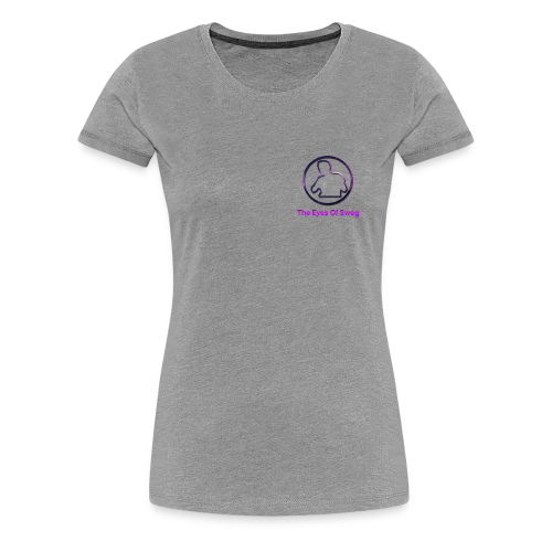 Galaxy Logo - Women's Premium T-Shirt