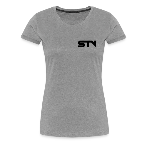 STV Logo Black - Women's Premium T-Shirt