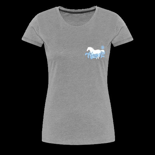 H&l denim Simple Horse - T-shirt Premium Femme