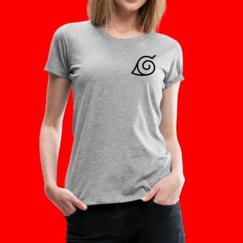 Simbolo konoha svg - Camiseta premium mujer