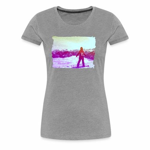 snowboarders - Women's Premium T-Shirt