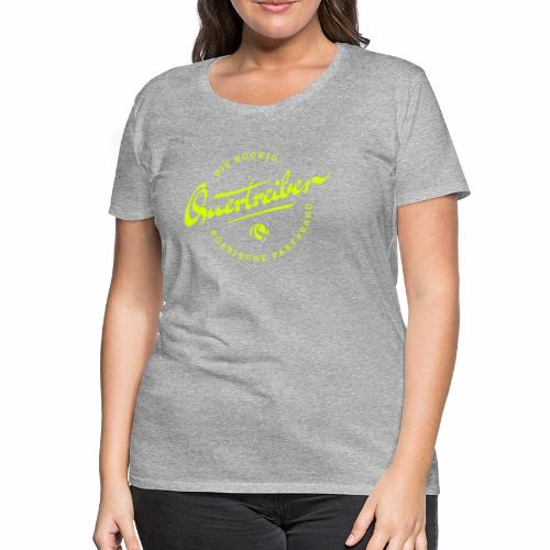 Quertreiber Logo 2017 - Frauen Premium T-Shirt