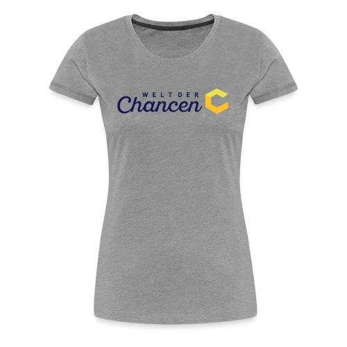 Welt der Chancen - Frauen Premium T-Shirt